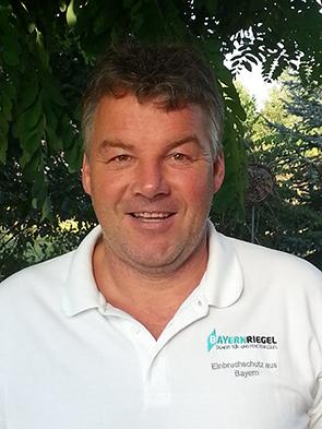 Herr Hans Haas ist Ihr Ansprechpartner für alle Fragen rund um den BAYERNRIEGEL