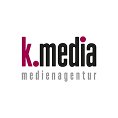 Logo k.media medienagentur