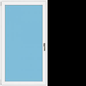 Glasstür einflügelig