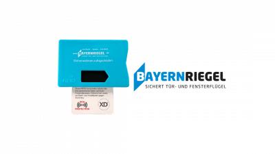 Bayernriegel Gratis RFID Blocker Schutzhülle